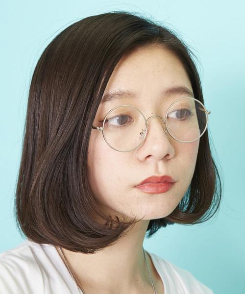 [Atelier mimi] 丸めがね 丸眼鏡 伊達メガネ だて眼鏡
