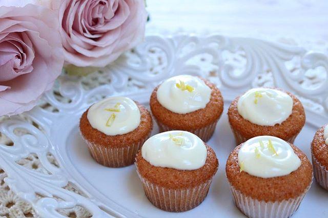 レモン風味のカップケーキ