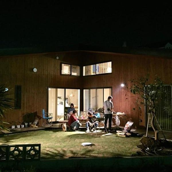 インスタグラマーたちの「夜に楽しめるお庭」をご紹介!3