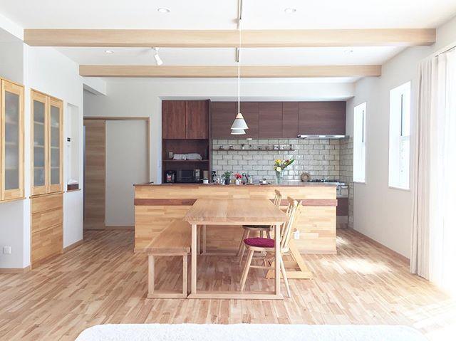 建具や床色もトータルコーディネート