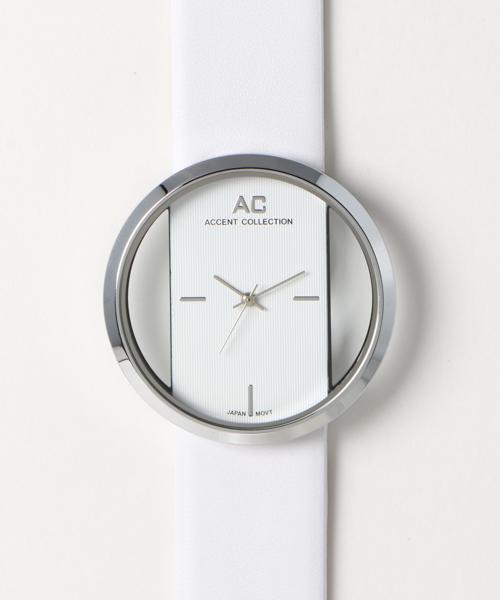 「アントマリーズ」の「クリアフェイス腕時計」