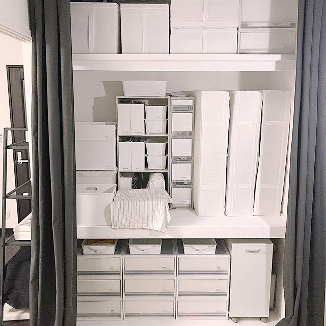 バッグ収納 ニトリ インボックス