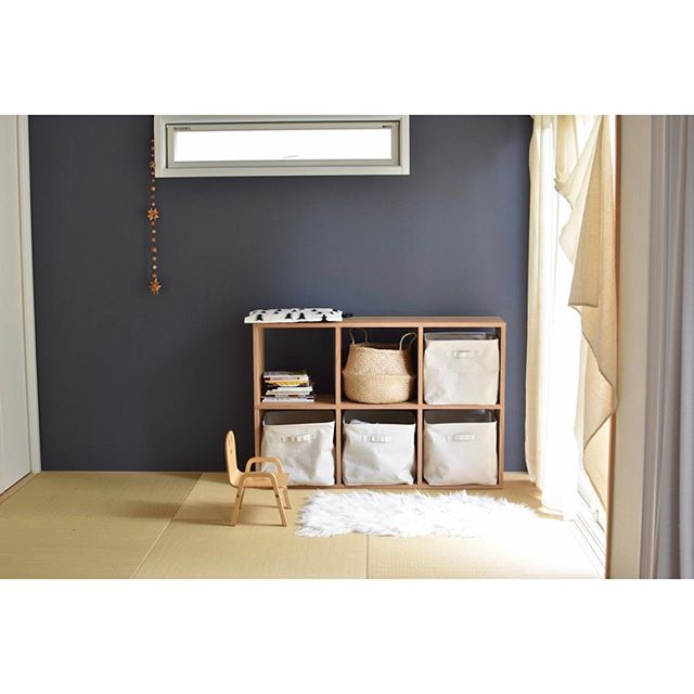 畳の和室も北欧テイストでモダンな印象に