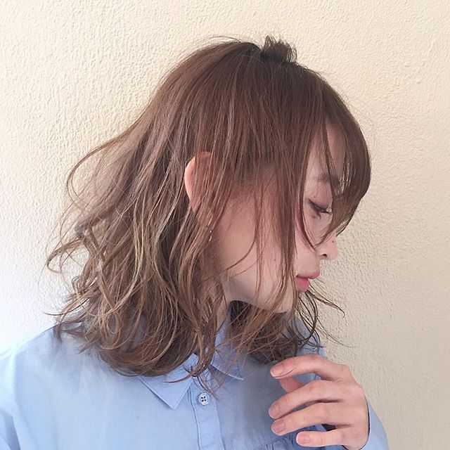 ベージュ 髪色 種類6
