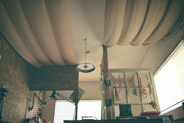 一人暮らし 天井 DIY
