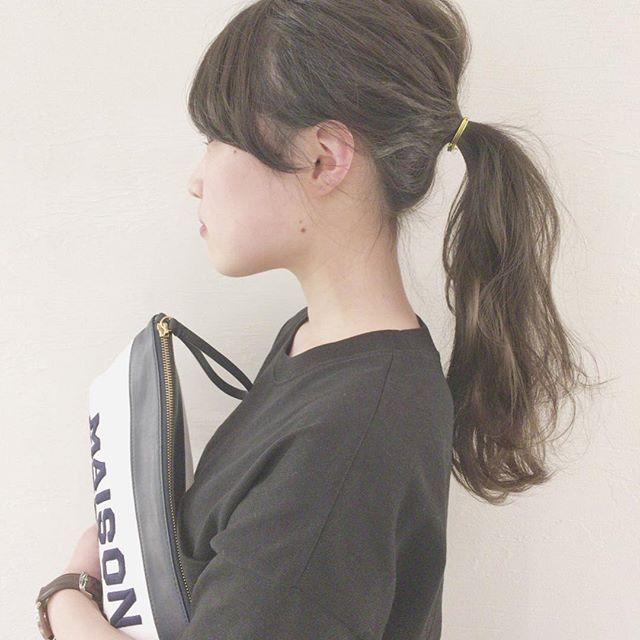 ベージュ 髪色 種類4