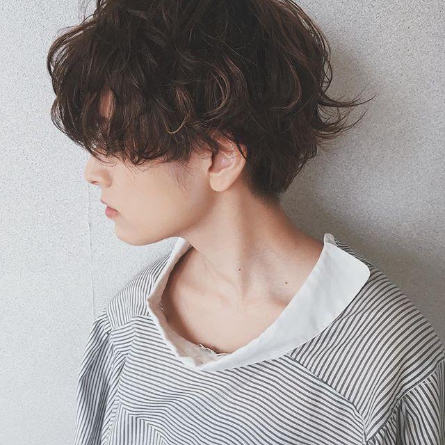 40代におすすめのショートヘア×パーマ2