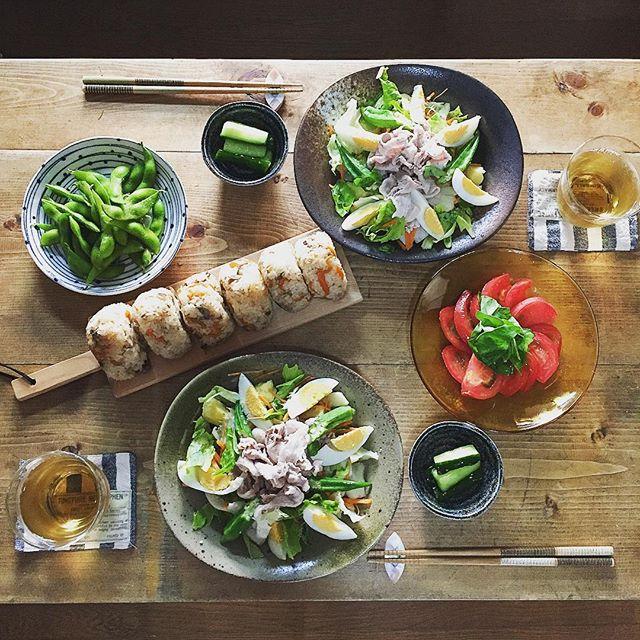 マクロビオティック 夏野菜