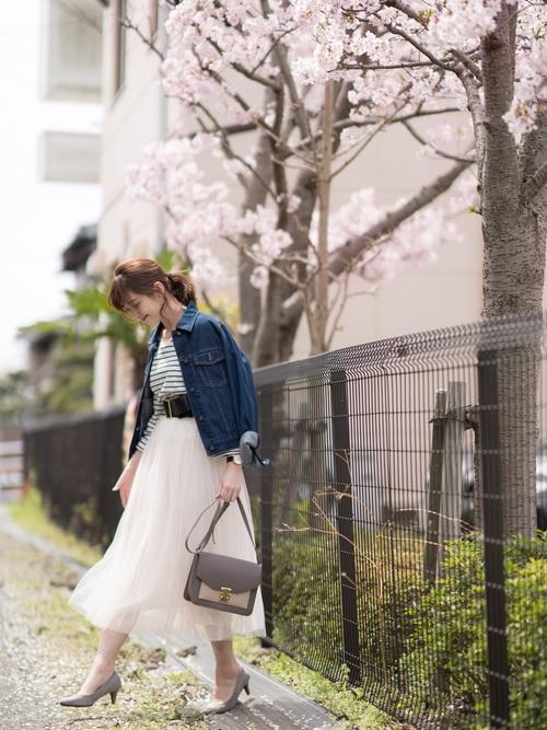 [coca] 選べる6カラー◆ふんわりチュールスカート5