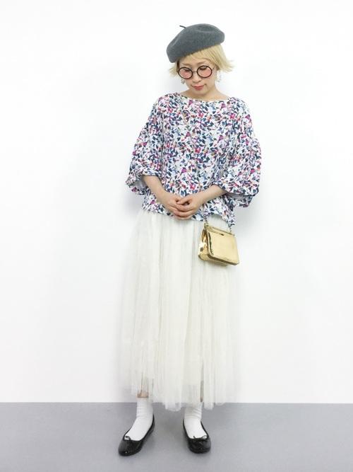 [coca] 選べる6カラー◆ふんわりチュールスカート3