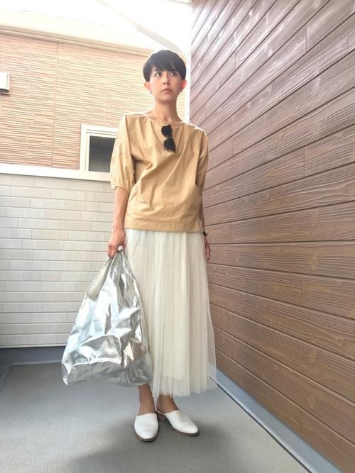 [coca] 選べる6カラー◆ふんわりチュールスカート6
