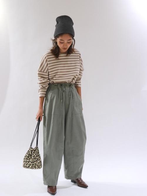 [Ungrid] リブ編みニット帽4