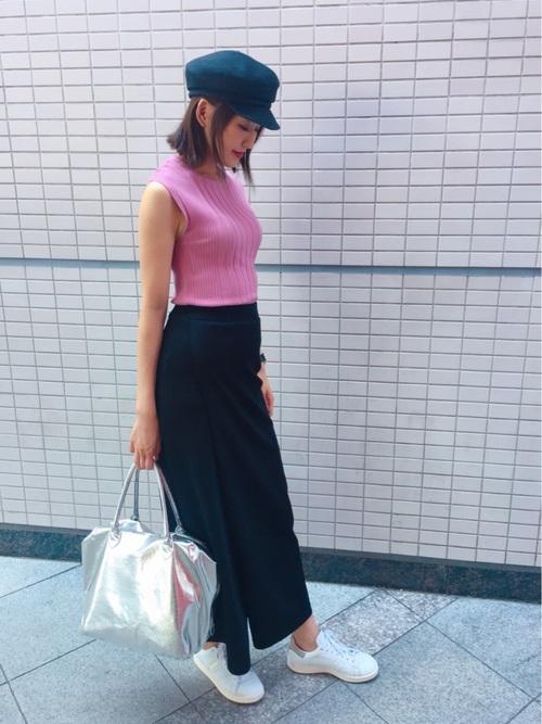 《初秋》気温27度の服装:スカートスタイル 晴れ