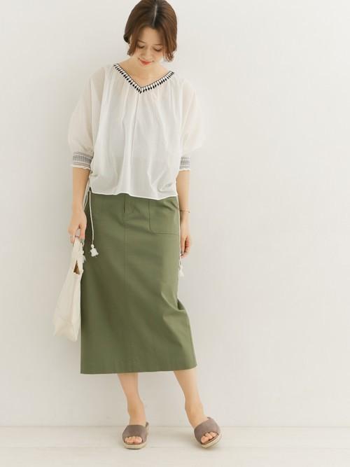 ワイドベルトIラインスカート