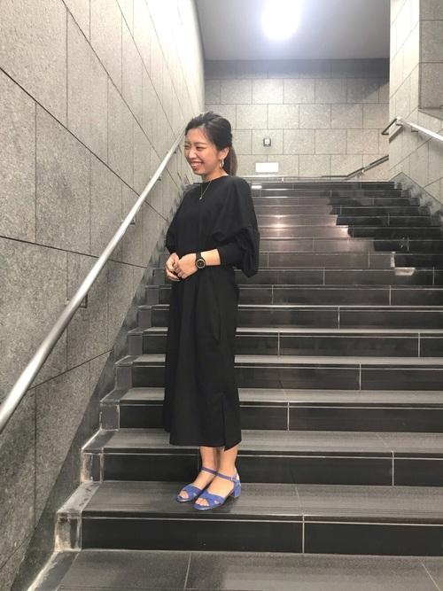38[ORiental TRaffic] 春夏新作★クロスデザインミドルヒールサンダル★9209