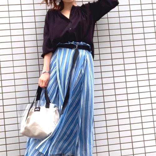 7b04c1d2bcb9e しまむら の「スカート&ワンピース」♡大人かわいい着こなしを楽しもう ...