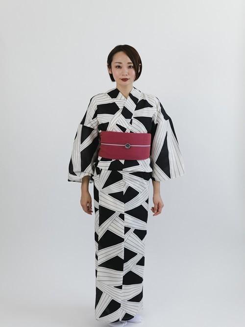 [KIMONO MODERN] しじら織り大人の兵児帯*KIMONO MODERN