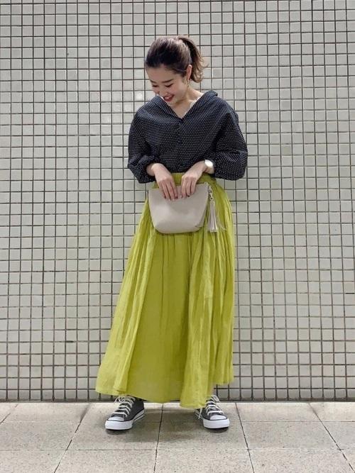 2[Samansa Mos2] ギャザースカート