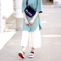 スニーカー×スカートが大人可愛い♡きれいめカジュアルが叶う夏コーデ50選