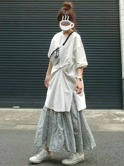[YARD PLUS] 【ZOZOTOWN限定!】AUNT MARIE'S FLOWERマーメイドラインスカート