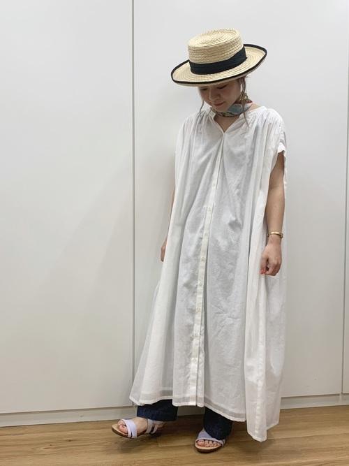 2[studio CLIP] ロールアップカンカン帽