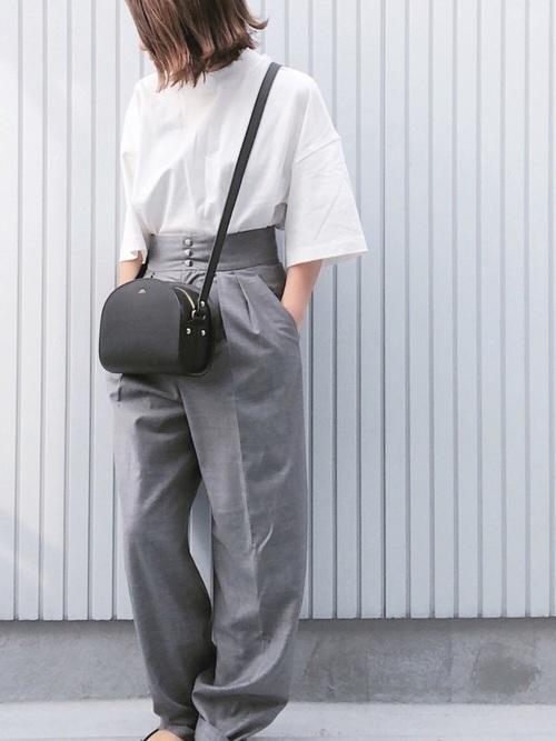 【ユニクロアイテム】きちんと感◎Tシャツ2