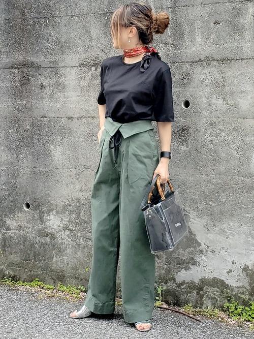 [BEAMS WOMEN] ATON / スビン パーフェクト ショートスリーブ Tシャツ