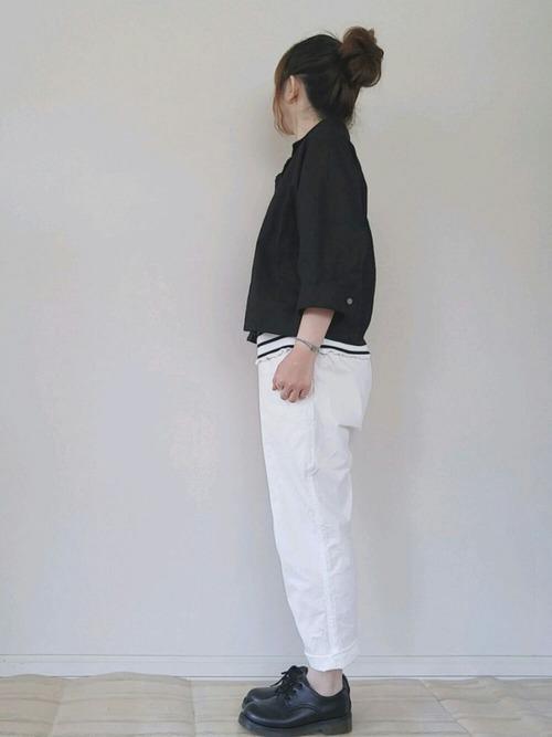 気温30度の服装:プチプラスタイル8