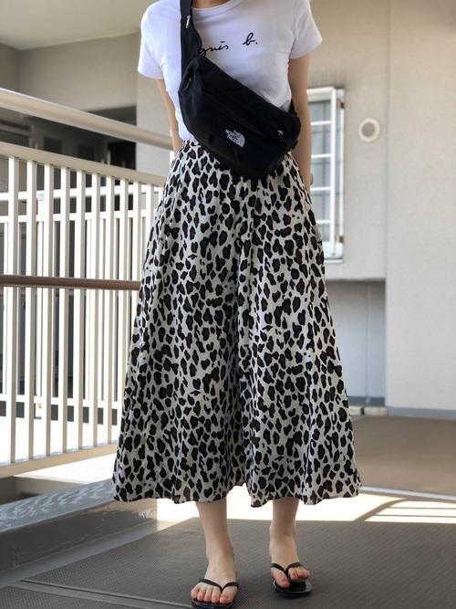 レオパードスカート ボディバッグ2