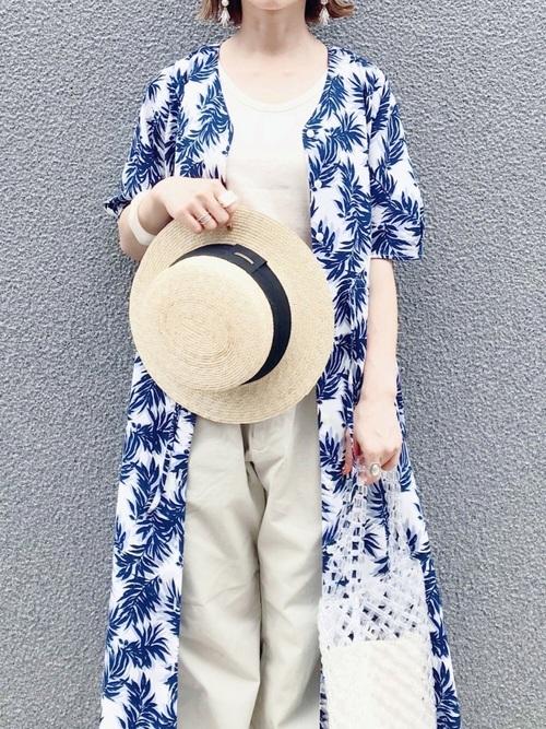 14[14+(ICHIYON PLUS)] グログラン巻きカンカン帽 / 14+オリジナル レディース 帽子 HAT UVハット