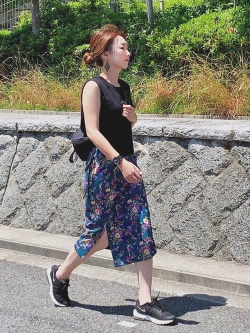 [Mila Owen] スリットデザインタイトスカート