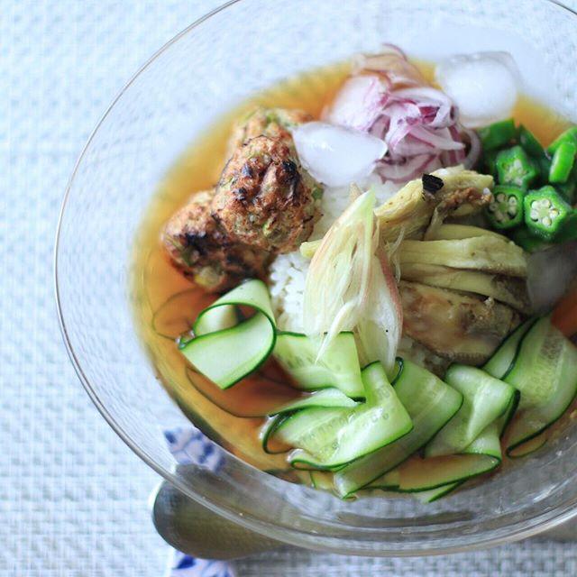 夏に食べたいなすのスープ・汁物2