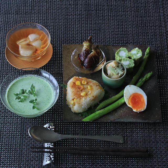 夏 冷製スープ