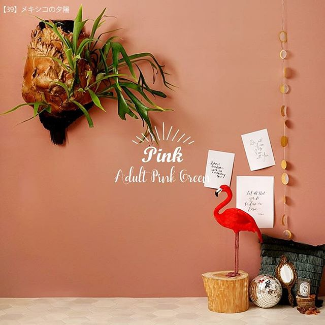 元気の出るピンク