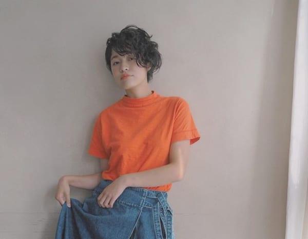 アシメヘアアレンジ