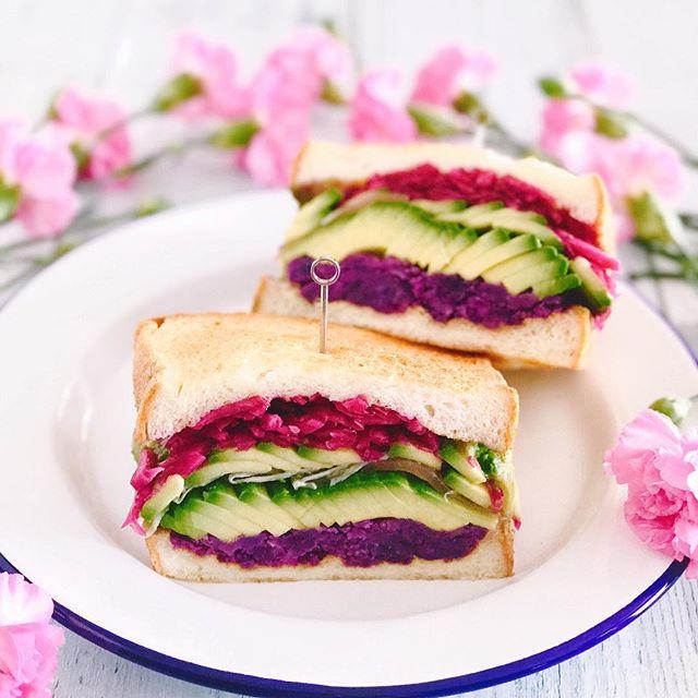 おしゃれ サンドイッチ 野菜5