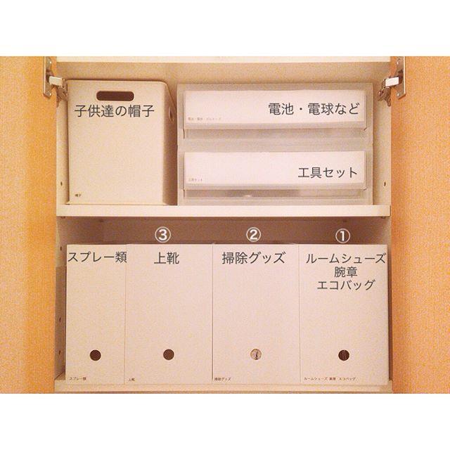 バッグ収納 無印良品 ファイルボックス2