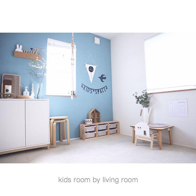北欧風の大人っぽい女の子部屋4