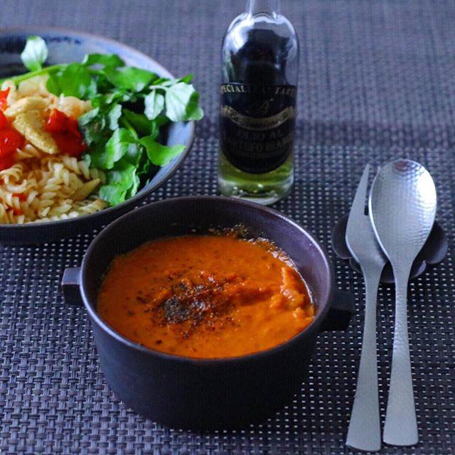 トマト 大量消費 レシピ スープ2