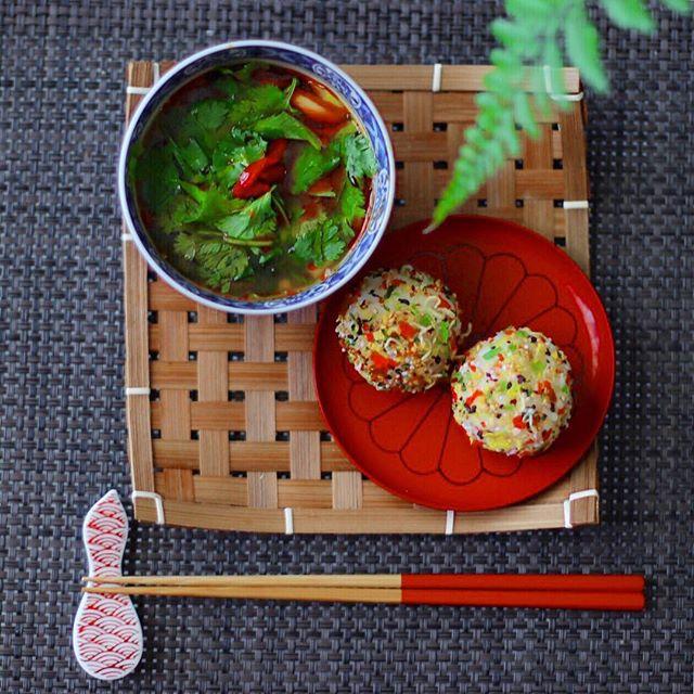 夏 韓国風スープ