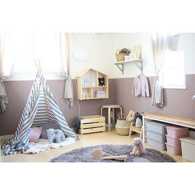 テント付きの子供部屋2