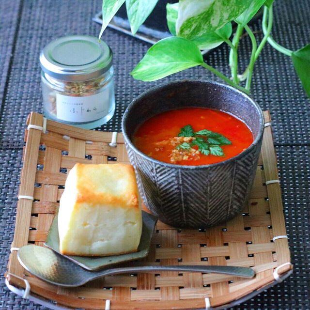 夏 洋風スープ16