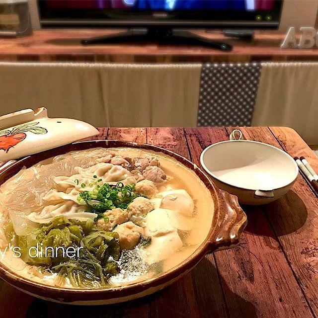 冬の定番料理「お鍋」!鶏団子鍋
