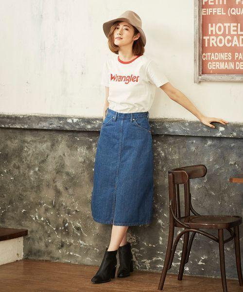 [Lee SHOP] 【Wrangler】ミドル スカート