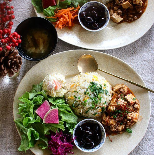 雑魚炒飯プレート