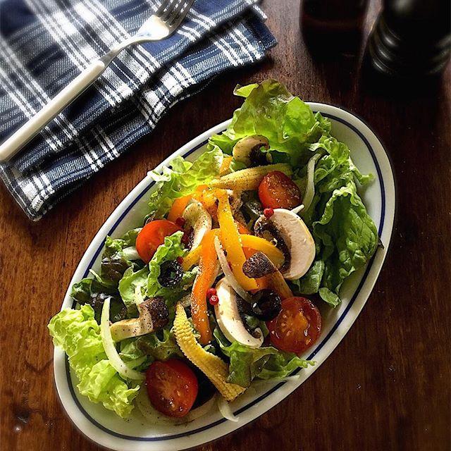 バルサミコ酢サラダ2