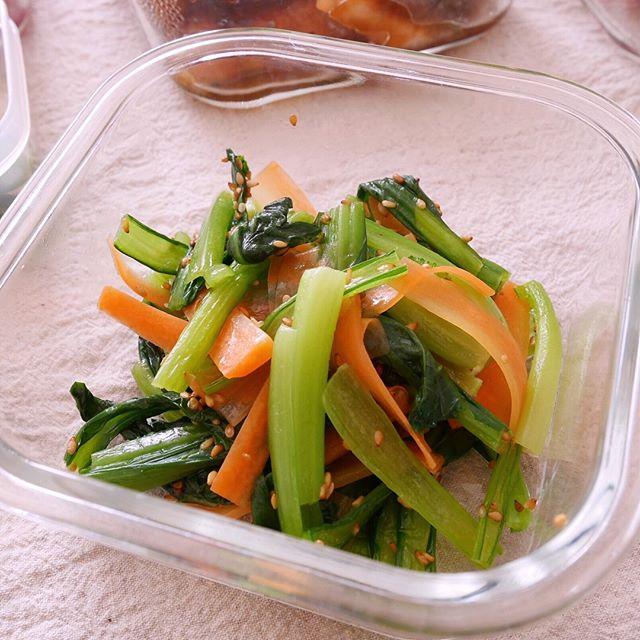作り置きにおすすめの野菜の和え物8
