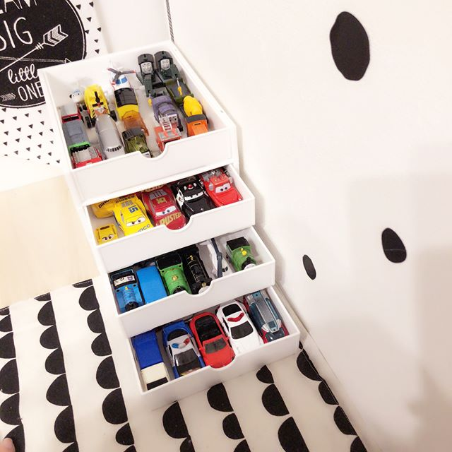 おもちゃ収納アイデア7