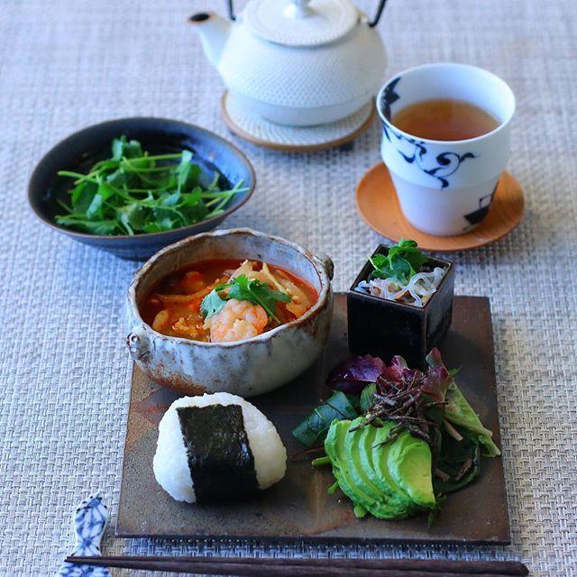 夏 タイ風スープ