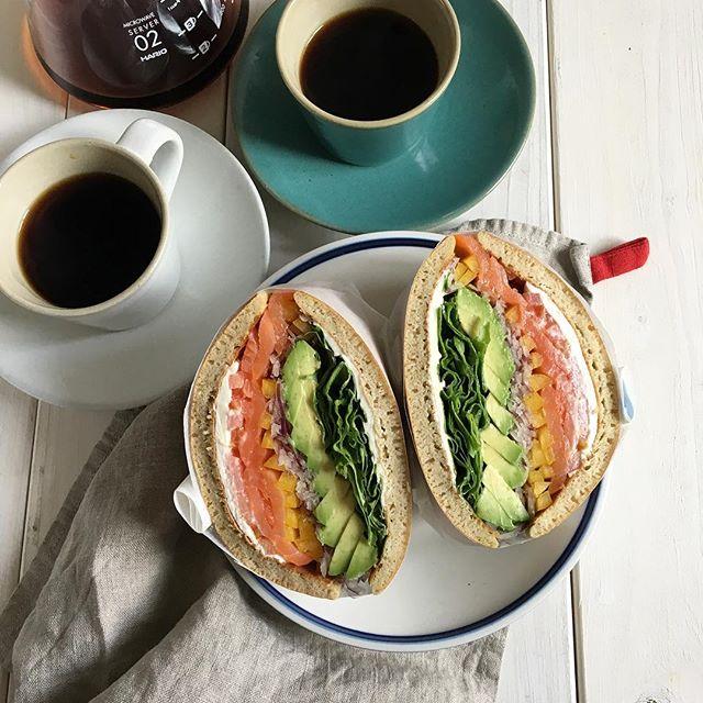 おしゃれ サンドイッチ 魚11